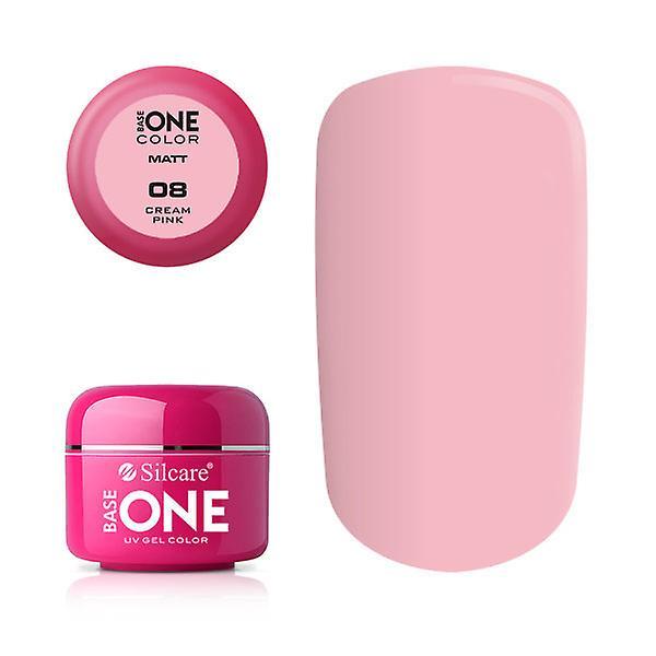 Base en-matte-krem rosa 5G UV gel