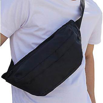 Cotton Addict Mens Zip Up Sporty Polyester Shoulder Bag