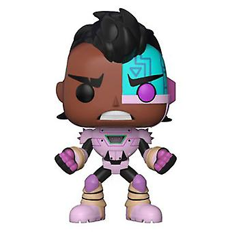 Teen Titans Go! the Night Begins to Shine Cyborg Pop! Vinyl