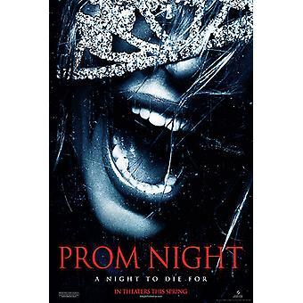 حفلة موسيقية ليلة (مزدوجة من جانب مقدما) (2008) ملصق السينما الأصلي