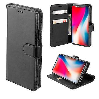 4smarts Premium Flip-Tasche Urban für Apple iPhone 11 Pro Max Schwarz Schutzhülle Etui