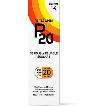 Riemann P20 serieus betrouwbaar Suncare SPF20 lotion 100ml