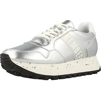 Bikkembergs sport/schoenen Bkw102108 kleur zilver