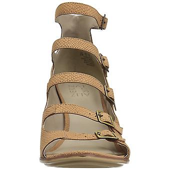 Naturalizer Womens Imogene leer Open teen Casual Strappy sandalen