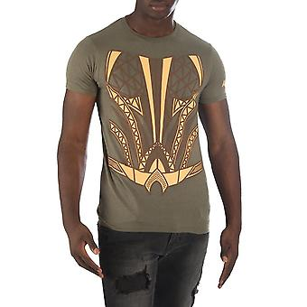 T-Shirt - DC Comics - Aquaman - Suit Up Packaged Costume Tee Men Large