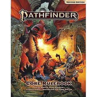 Core rulebook hardcover Pathfinder RPG anden udgave bog