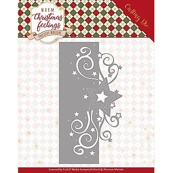 Find It Trading Precious Marieke Die-Swirl Star Edge, Warm Christmas Feelings