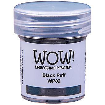 WOW! Puff Embossing Powder Ultra High Black | 15ml Jar