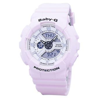 Casio Baby-G Stoßfest Weltzeit Analog Digital BA-110BE-4A Frauen's Uhr