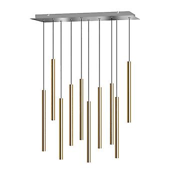 Pendant Lighting Kitchen Lamp Bedroom Ceiling Lights 10 Pendants Rectangular Canopy