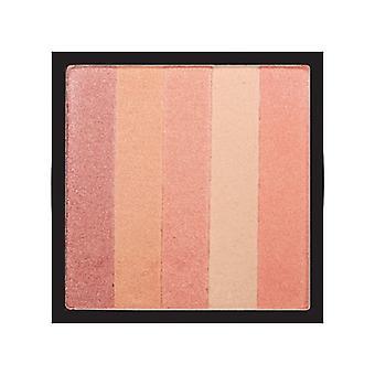 The Health & Beauty Company D# Shimmering Blush Block - Peach Glow