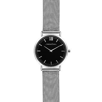 Andreas osten Quartz Analog Woman Watch with AO-132 Stainless Steel Bracelet