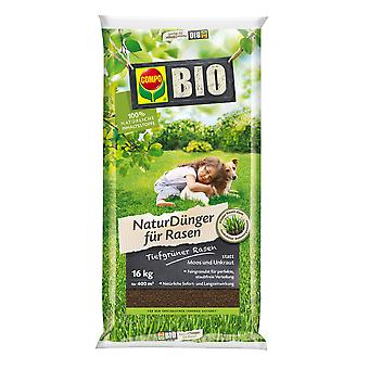 COMPO BIO Lawn Fertilizer, 16 kg