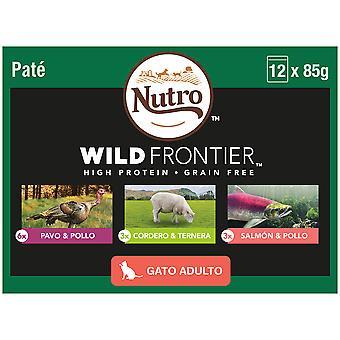 Nutro Wild Frontier Húmedo en Multipack Mixto Gatos Adultos (Cats , Cat Food , Wet Food)