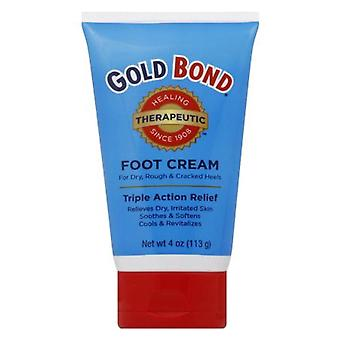Gold bond triple action relief foot cream, 4 oz