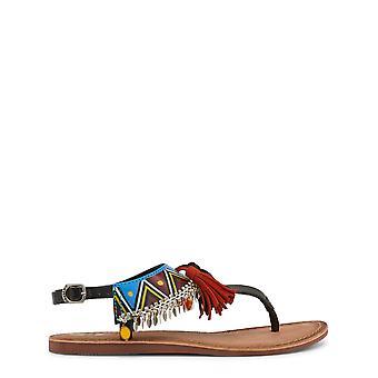 Gioseppo Original Women Spring/Summer Flip Flops - Black Color 31666