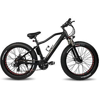 "Zipper Stealth Electric Fat Bike 26"" MTB 10Ah - Matt Black"