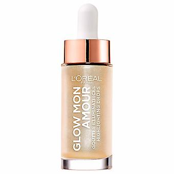 Loreal Glow Mon Amour highlighting DROPS-01 sprankelende liefde