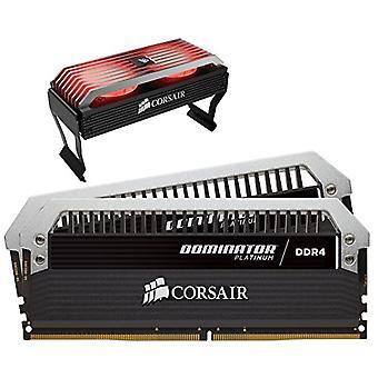 Corsair CMD16GX4M2B3466C16 Dominator Platinum desktop minnesett med høy ytelse, DDR4 16 GB, 2 x 8 GB, 3466 MHz, svart