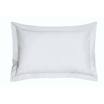 Weiße ägyptische Baumwolle Oxford Kissenbezug
