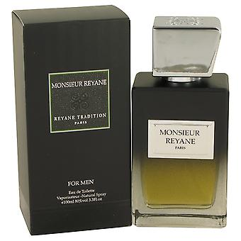 Monsieur Reyane by Reyane Tradition Eau De Toilette Spray 3.3 oz / 100 ml (Men)