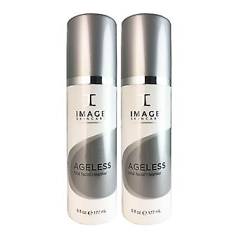 Image ageless total facial cleanser 6 oz duo pack