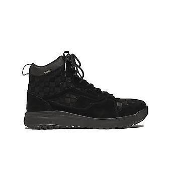 Vans Ezcr011010 Men's Black Suede Hi Top Sneakers