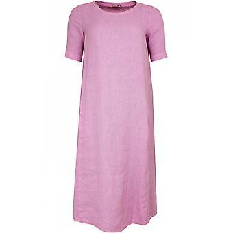 Backstage Pale Pink Linen Dress