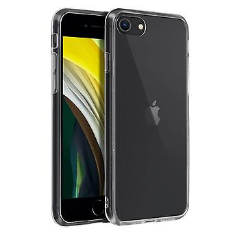 Tough rear clear case + shock absorbing silicone bumper for Apple iPhone 7 / 8