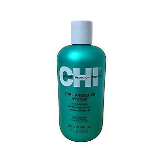 CHI Curl Preserve System Low PH Shampoo 12 OZ