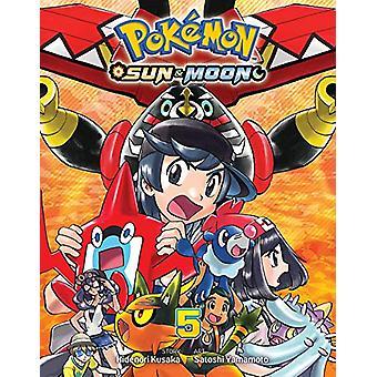 Pokemon - Sun & Moon - Vol. 5 by Hidenori Kusaka - 9781974706495 B