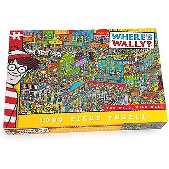 Where's wally - wild wild west ~ 1000 piece jigsaw puzzle
