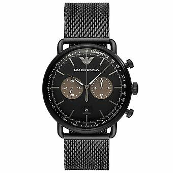 Emporio Armani AR11142 Chronograph Quartz with Stainless Steel Strap Men's Watch