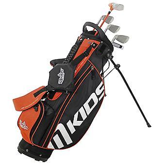 MKids Lite Junior Kids Golf Tas en Clubs Half Set Left Hand Orange 6-8 Jaar