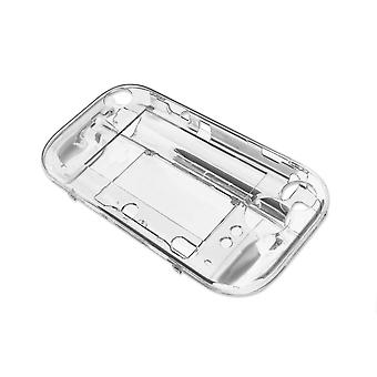 For Nintendo Wii U Crystal Clear Protective Hard Case Cover - BRAND NEW