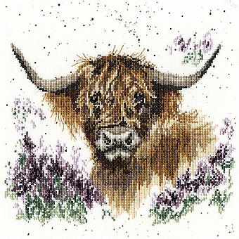 Bothy Threads Cross Stitch Kit - Highland Heathers
