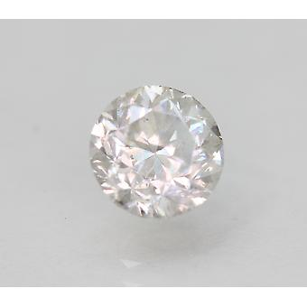 Certified 1.16 Carat F SI1 Round Brilliant Enhanced Natural Loose Diamond 6.24mm