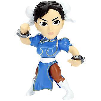 """Street Fighter Chung Li 4"""" Metalen"""