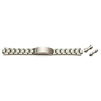 Watch bracelet stainless steel 12mm to 22mm