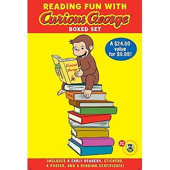 Reading Fun With Curious George Boxed Set by A H Rey