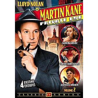 Martin Kane Private Eye: Vol. 2 [DVD] USA import