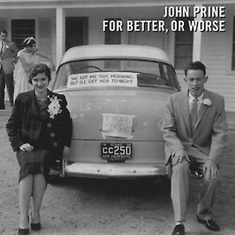 John Prine - For Better or Worse [Vinyl] USA import