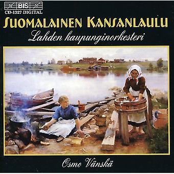 Orquesta Sinfónica de Lahti - Suomalainen Kansanlaulu (canciones folklóricas finlandesas) [CD] Estados Unidos importar