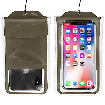 Smartphone cover Up to 7'' Waterproof 30m IPX8 Airbag Baseus Black
