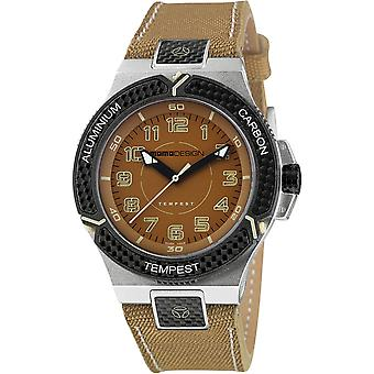 MOMO Design Tempest Young Watch MD2114AL-23 - Leather - Fabric Gents Quartz Analogue