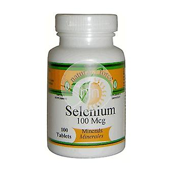 Selenium 100 tablets of 100μg