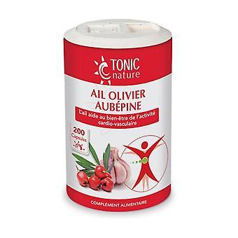 Garlic + Olive + Hawthorn 200 capsules