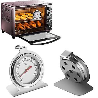 Stainless Steel Dial Oven Thermometer - Classic Food Meat Digital Gauge Cooking Supplies