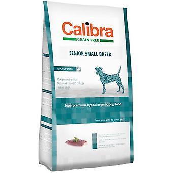 Calibra Dog Senior Small Breed / Duck & Potato (Dogs , Dog Food , Dry Food)