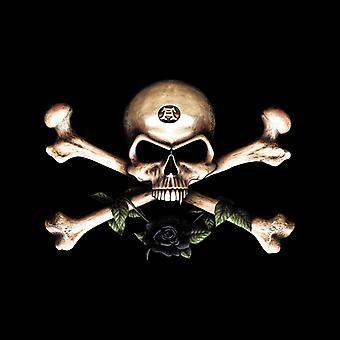 Alchemie schedel en cross botten mannen ' s T-shirt